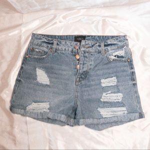 Pink Celebrity Jean Shorts size 9/29